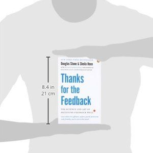 new Thanks for the Feedback Book